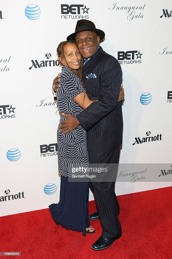 Comedian Michael Colyar (R) attends the Inaugural Ball hosted by BET Networks at Smithsonian American Art Museum & National Portrait Gallery on January 21, 2013 in Washington, DC.