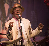 Comedian Michael Colyar performs onstage at A Night Of Music And Comedy at Vibrato Jazz Grill on April 04 2016 in West Hollywood California