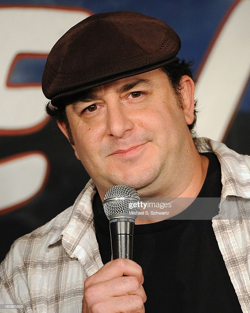 Comedian Michael Faverman performs during his appearance at The Ice House Comedy Club on February 28, 2013 in Pasadena, California.