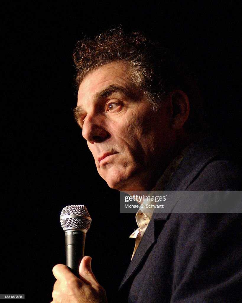 Comedian Michael Richards performs during his appearance at the Hollywood Improv comedy club on October 12 2006 in Hollywood California