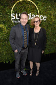 Comedian Mike Birbiglia and founding director of Sundance Institute's Feature Film Program Michelle Satter attend the 2015 Sundance Institute...