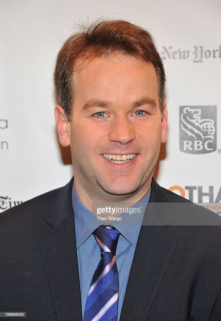 Comedian Mike Birbiglia attends the IFP's 22nd Annual Gotham Independent Film Awards at Cipriani Wall Street on November 26, 2012 in New York City.