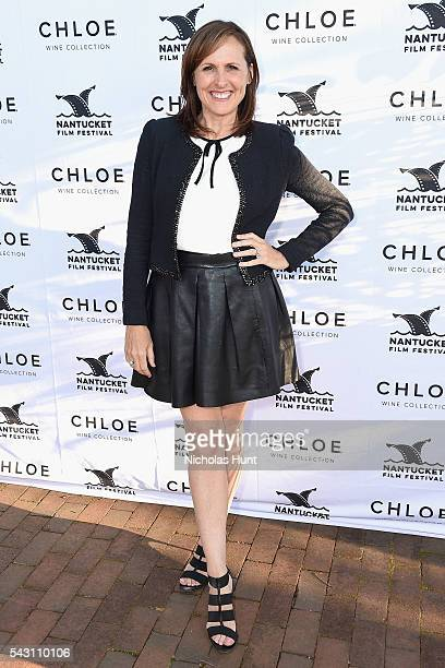 Comedian Molly Shannon attends the Screenwriters Tribute at the 2016 Nantucket Film Festival Day 4 on June 25 2016 in Nantucket Massachusetts