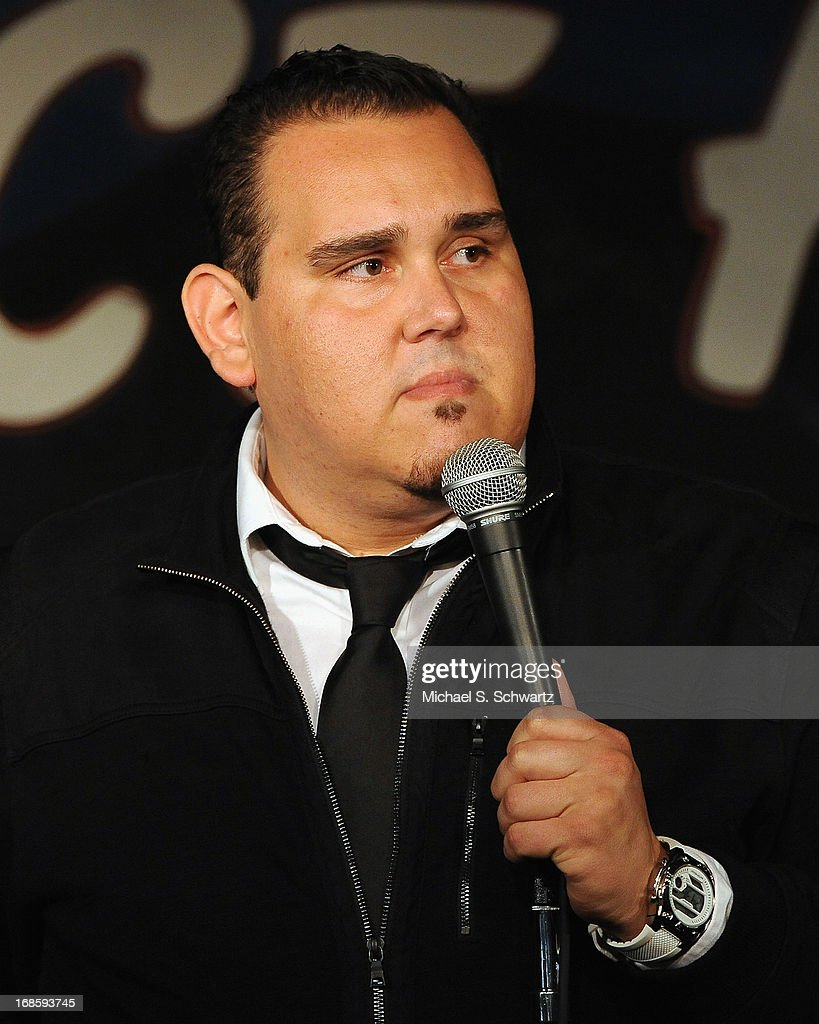 Comedian Momo Rodriguez performs during his appearance at The Ice House Comedy Club on May 11, 2013 in Pasadena, California.
