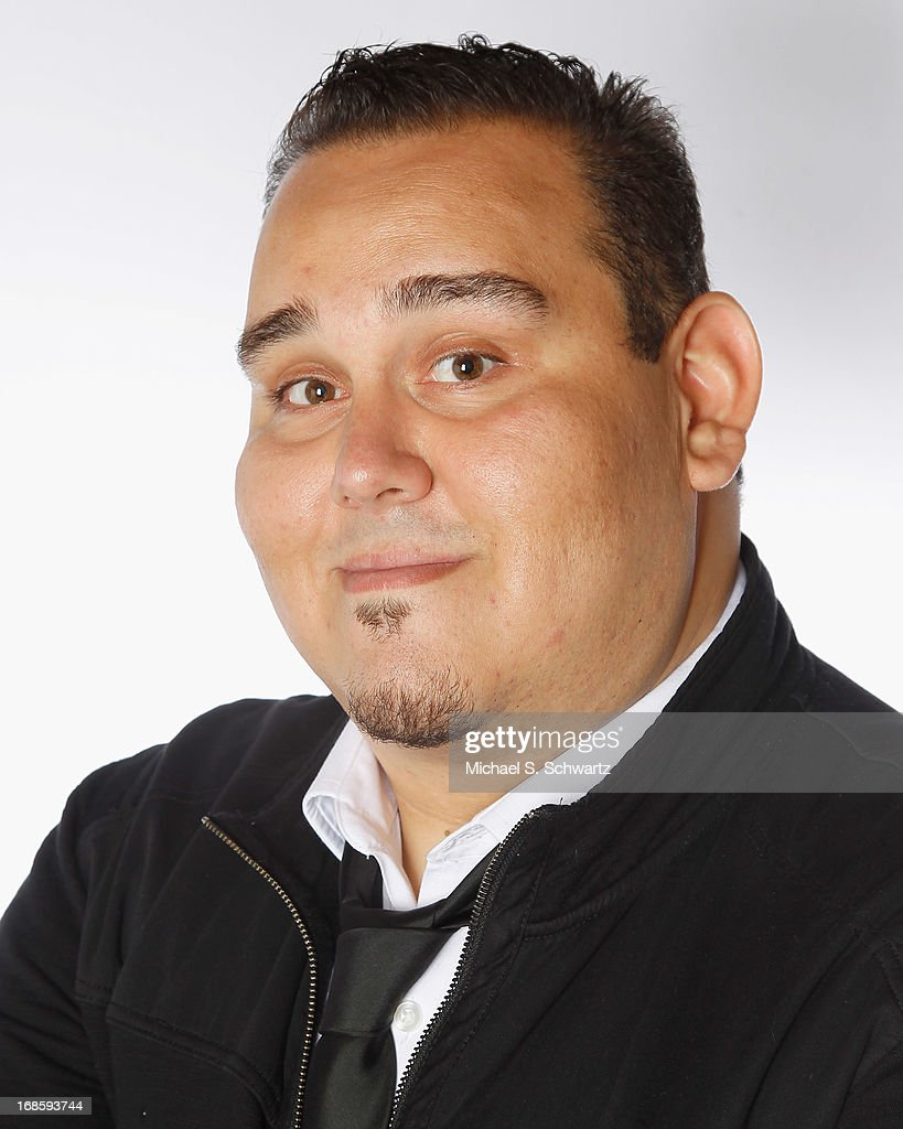 Comedian Momo Rodriguez poses after his performance at The Ice House Comedy Club on May 11, 2013 in Pasadena, California.