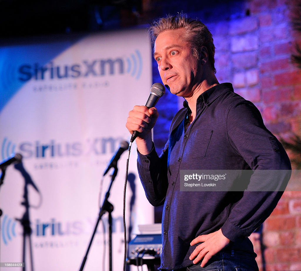 Comedian Nick Griffin attends comedian Tom Papa's special Christmas edition of SirusXM's 'Come To Papa' his 'Raw Dog' comedy show on SiriusXM at Village Underground on December 18, 2012 in New York City.