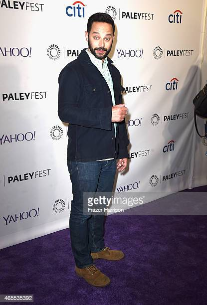 Comedian Nick Kroll arrives at The Paley Center For Media's 32nd Annual PALEYFEST LA A Salute To Comedy Central at Dolby Theatre on March 7 2015 in...
