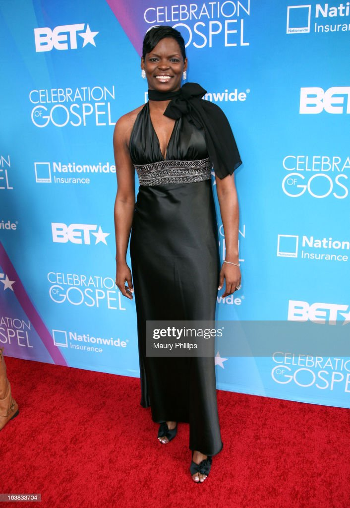 Comedian Nikita B attends the BET Celebration of Gospel 2013 at Orpheum Theatre on March 16, 2013 in Los Angeles, California.