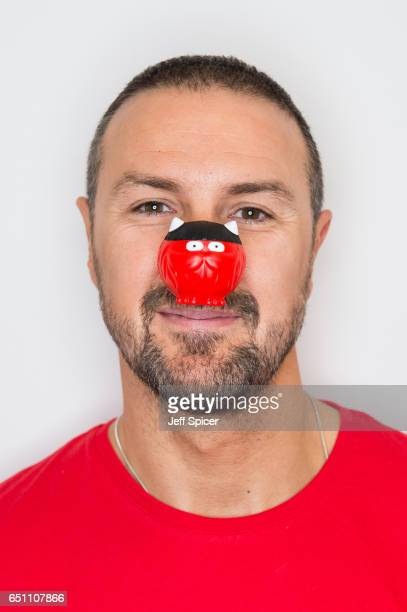 Comedian Paddy McGuinness raises money for Comic Relief by appearing on multiple TV shows in one day at London Studios on March 10 2017 in London...