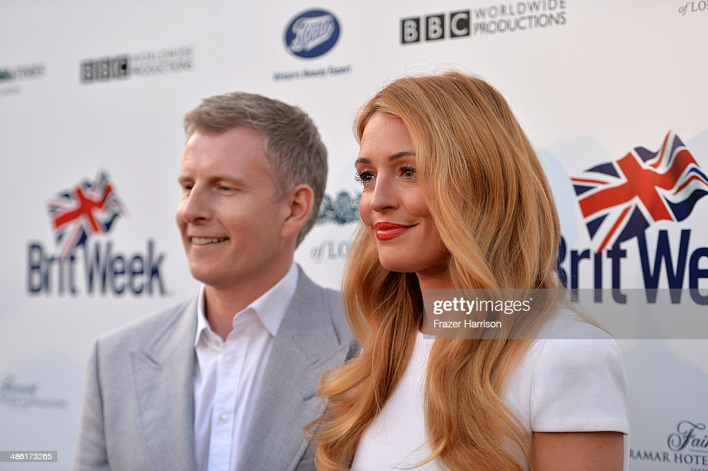 Comedian Patrick Kielty (L) and TV personality Cat Deeley attend the 8th Annual BritWeek Launch Party at a private residence on April 22, 2014 in Los Angeles, California.
