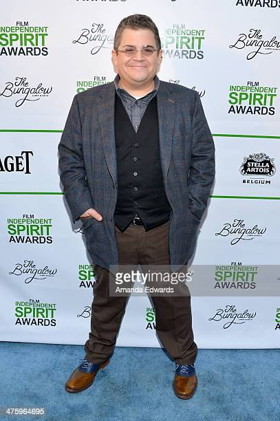 Comedian Patton Oswalt attends the 2014 Film Independent Spirit Awards after party at The Bungalow on March 1 2014 in Santa Monica California