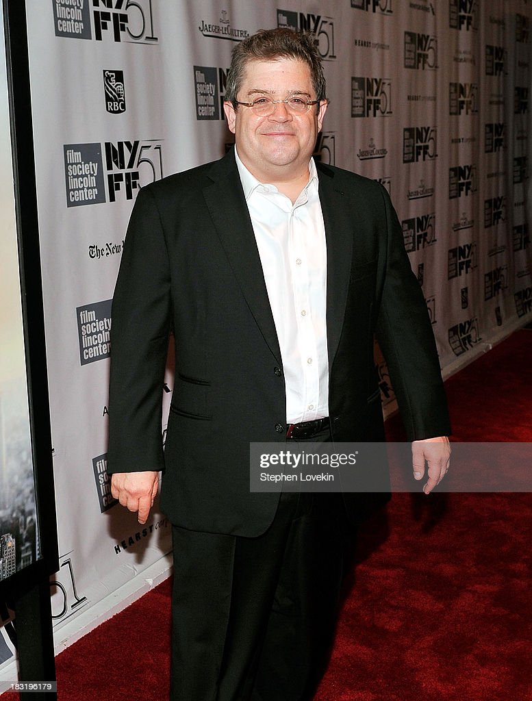 Comedian <a gi-track='captionPersonalityLinkClicked' href=/galleries/search?phrase=Patton+Oswalt&family=editorial&specificpeople=637232 ng-click='$event.stopPropagation()'>Patton Oswalt</a> attends the Centerpiece Gala Presentation Of 'The Secret Life Of Walter Mitty' during the 51st New York Film Festival at Alice Tully Hall at Lincoln Center on October 5, 2013 in New York City.