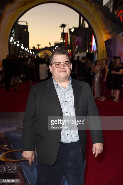 Comedian Patton Oswalt attends the premiere of Disney And Marvel Studios' 'Doctor Strange' on October 20 2016 in Hollywood California