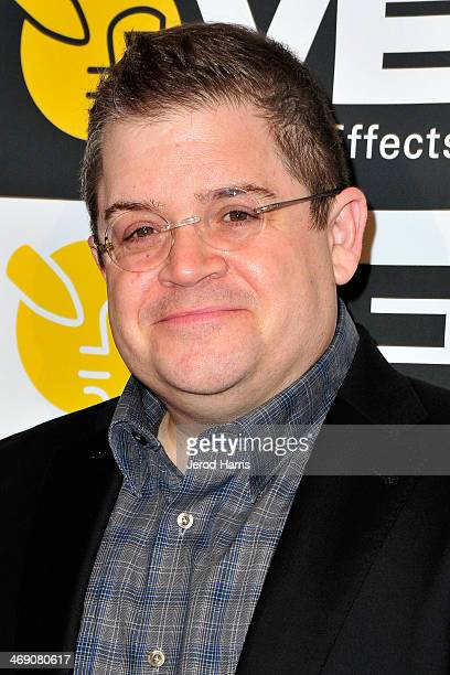 Comedian Patton Oswalt attends the Visual Effects Society's 12th Annual VES Awards at The Beverly Hilton Hotel on February 12 2014 in Beverly Hills...