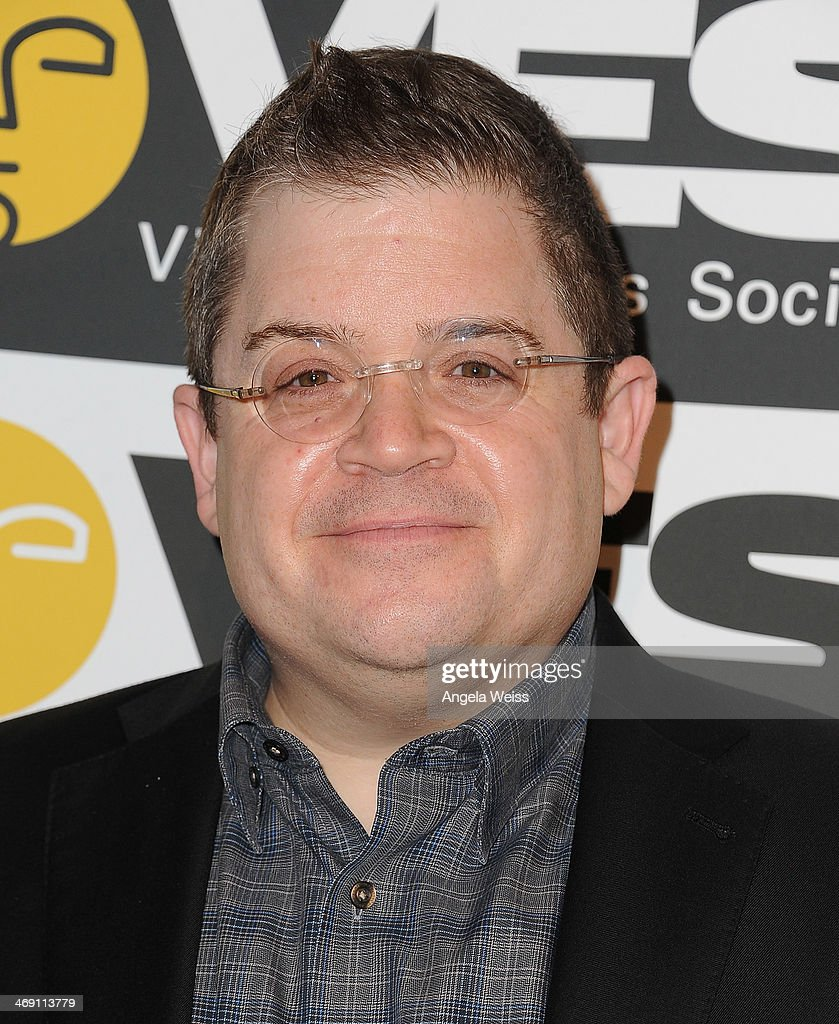 Comedian <a gi-track='captionPersonalityLinkClicked' href=/galleries/search?phrase=Patton+Oswalt&family=editorial&specificpeople=637232 ng-click='$event.stopPropagation()'>Patton Oswalt</a> attends the Visual Effects Society's 12th Annual VES Awards at The Beverly Hilton Hotel on February 12, 2014 in Beverly Hills, California.