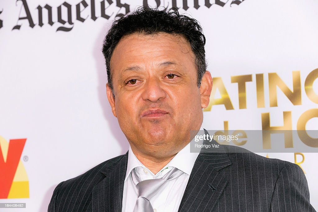 Comedian Paul Rodriguez arrives at the 2013 Latinos De Hoy Awards at Los Angeles Times Chandler Auditorium on October 12, 2013 in Los Angeles, California.