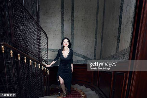 Comedian Rachida Khalil is photographed for the Times on June 20 2014 in Paris France