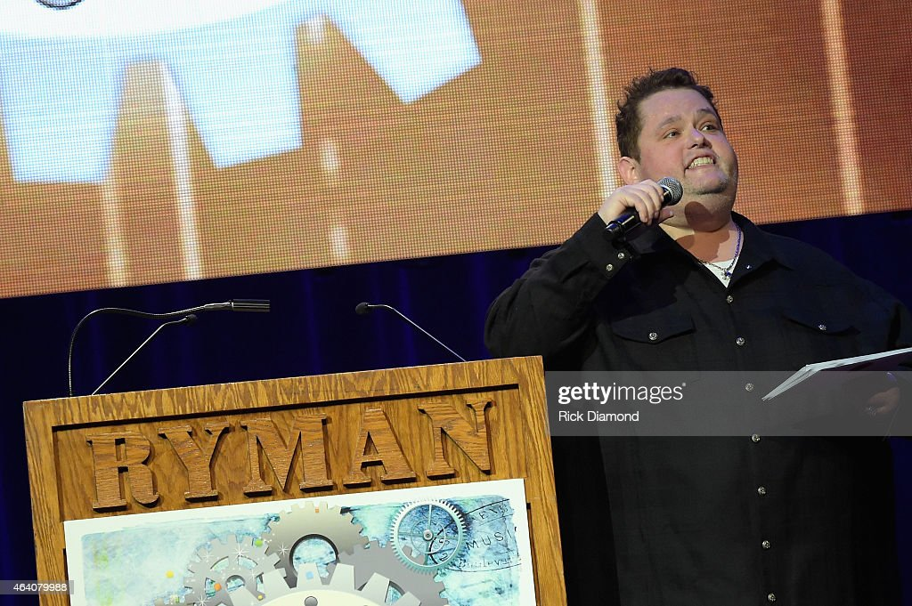Comedian Ralphie May hosts the 26th Annual Pollstar Awards at Ryman Auditorium on February 21, 2015 in Nashville, Tennessee.