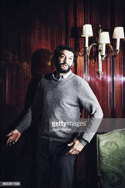 Comedian Ramzy Bedia is photographed for UGC Magazine on January 2016 in Paris France