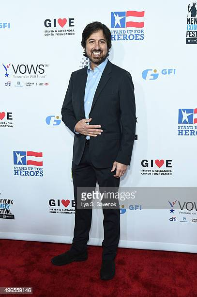 Comedian Ray Romano attends the New York Comedy Festival and the Bob Woodruff Foundation's 9th Annual Stand Up For Heroes Event on November 10 2015...