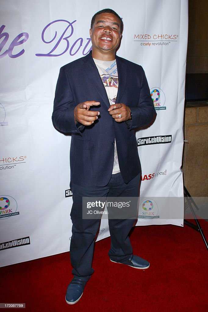 Comedian Red Grant attends The Hope Bowl Benefiting WE Spark Cancer Support Center at Lucky Strike Lanes at L.A. Live on June 30, 2013 in Los Angeles, California.