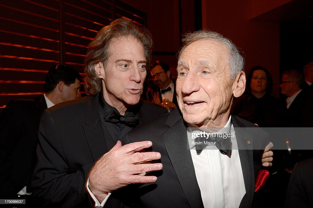 Comedian Richard Lewis and honoree Mel Brooks attend the after party for AFI's 41st Life Achievement Award Tribute to Mel Brooks at Dolby Theatre on June 6, 2013 in Hollywood, California. 23647_004_KM_1914.JPG