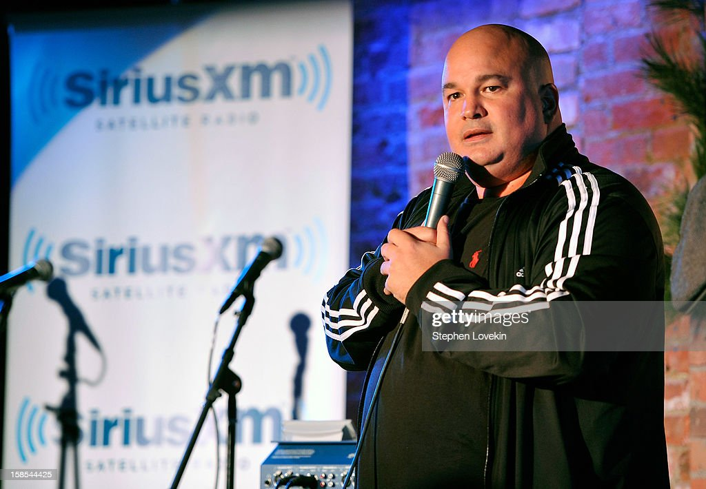Comedian Robert Kelly attends comedian Tom Papa's special Christmas edition of SirusXM's 'Come To Papa' his 'Raw Dog' comedy show on SiriusXM at Village Underground on December 18, 2012 in New York City.