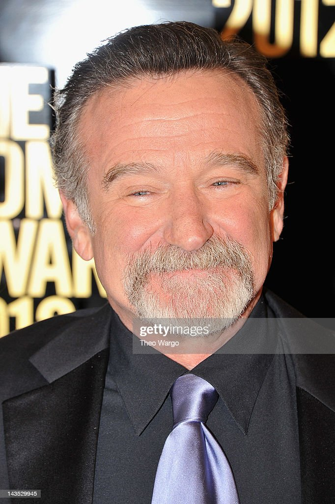 Comedian <a gi-track='captionPersonalityLinkClicked' href=/galleries/search?phrase=Robin+Williams&family=editorial&specificpeople=174322 ng-click='$event.stopPropagation()'>Robin Williams</a> attends The Comedy Awards 2012 at Hammerstein Ballroom on April 28, 2012 in New York City.