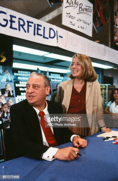 Comedian Rodney Dangerfield was interviewed by Sylvia Chase for a '20/20 Special' RODNEY