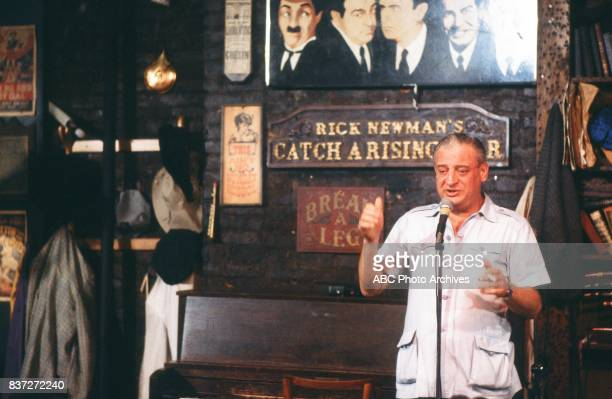 Comedian Rodney Dangerfield was interviewed for a '20/20 Special' RODNEY