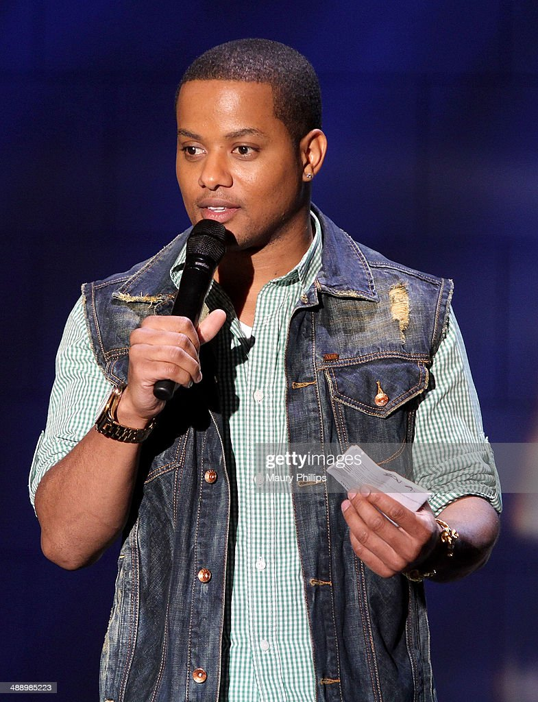 Comedian Ron G onstage during 'Verses And Flow' Season 4 taping presented by TV One at Siren Studios on May 8, 2014 in Hollywood, California.
