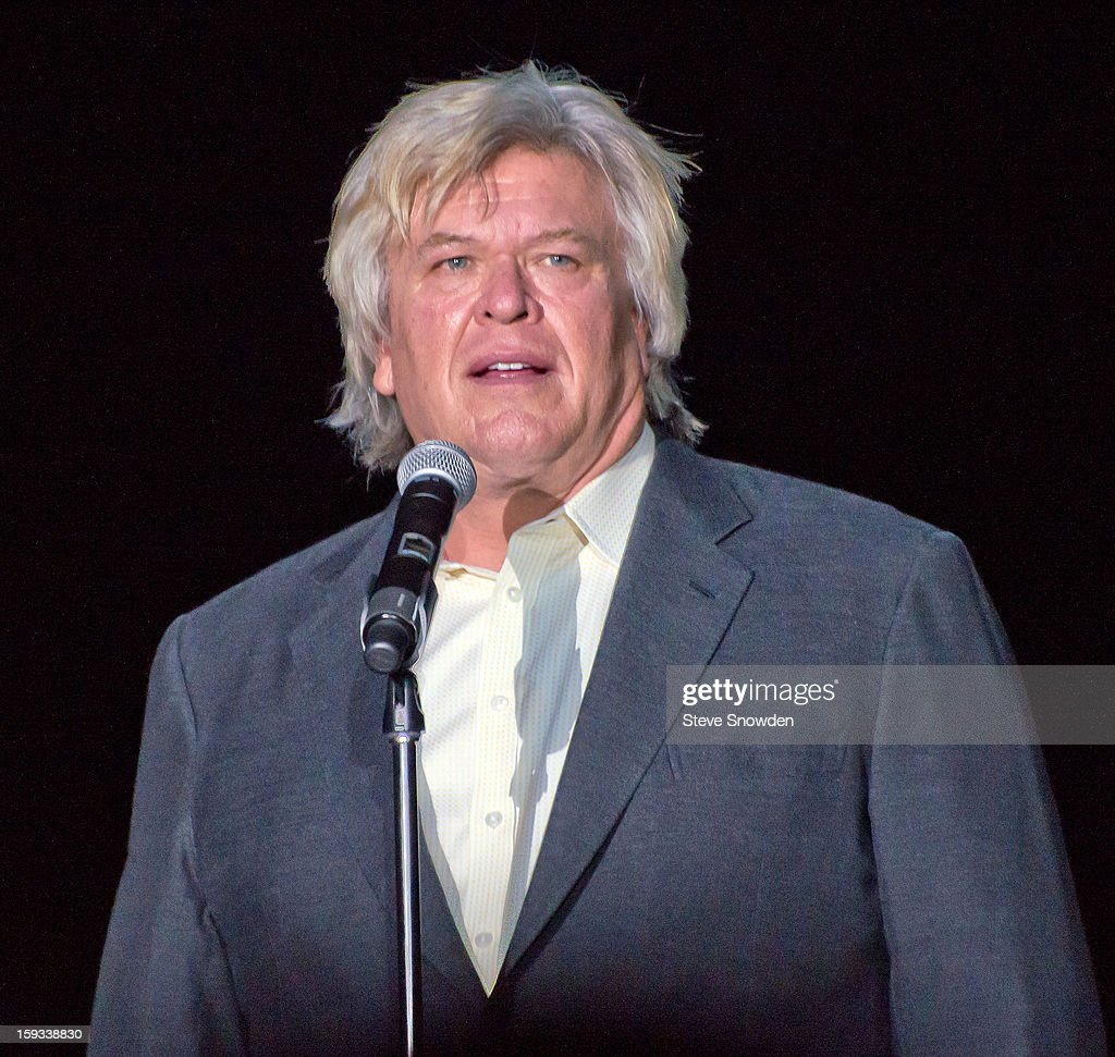 Comedian <a gi-track='captionPersonalityLinkClicked' href=/galleries/search?phrase=Ron+White+-+Comedian&family=editorial&specificpeople=2243910 ng-click='$event.stopPropagation()'>Ron White</a> performs on stage at Route 66 Casino's Legends Theater on January 11, 2013 in Albuquerque, New Mexico.