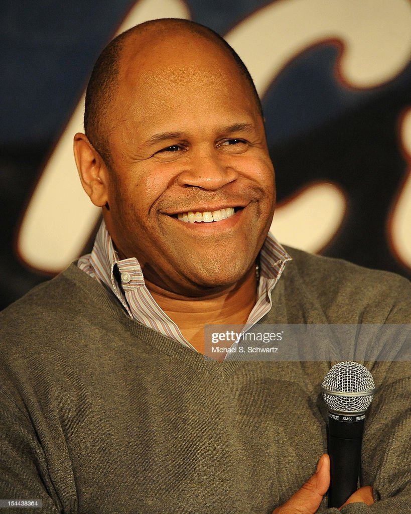 Comedian Rondell Sheridan performs during his appearance at The Ice House Comedy Club on October 19, 2012 in Pasadena, California.