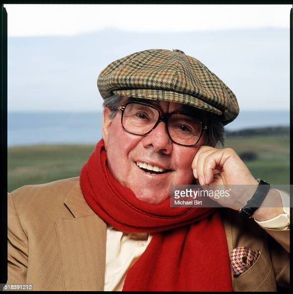 Comedian Ronnie Corbett is photographed for the Radio Times on February 18 2005 in Gullane Scotland