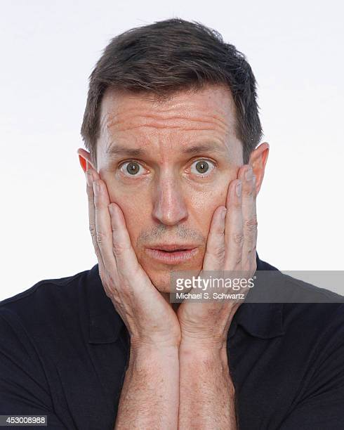 Comedian Rove McManus poses after his performance at The Ice House Comedy Club on July 25 2014 in Pasadena California
