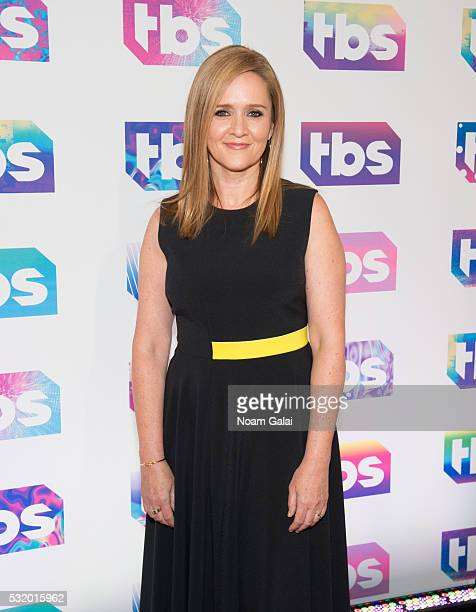 Comedian Samantha Bee attends TBS's 'A Night Out with Conan O'Brien Rashida Jones Samantha Bee and Jason Jones' at The New Museum on May 17 2016 in...