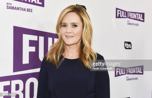 Comedian Samantha Bee attends the TBS' 'Full Frontal With Samantha Bee' For Your Consideration Event at Samuel Goldwyn Theater on May 23 2017 in...
