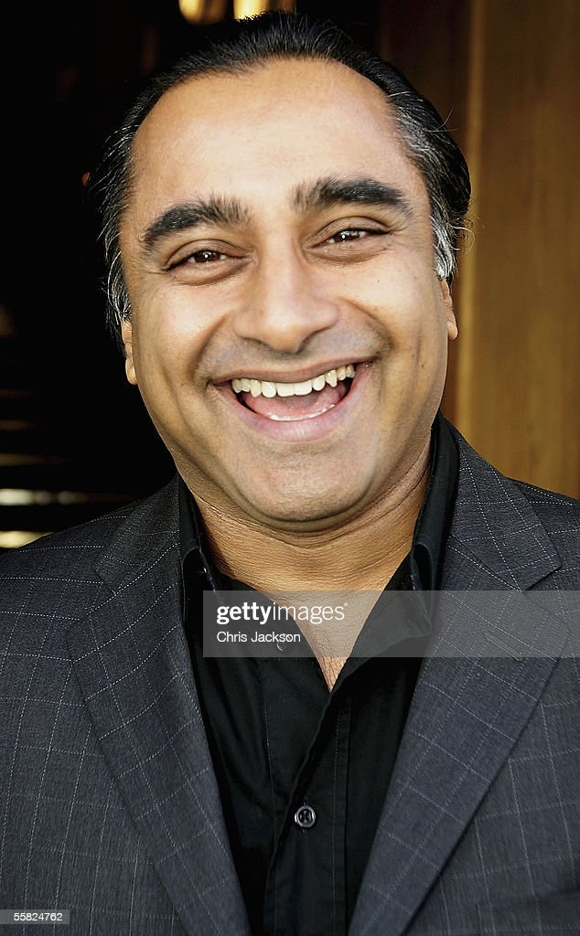 Comedian Sanjeev Bhaskar arrives at the Best Of British Comedy Lunch at BAFTA Piccadilly on September 29 2005 in London England Top British acts host...