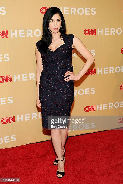 Comedian Sarah Silverman attends the 2013 CNN Heroes at the American Museum of Natural History on November 19 2013 in New York City