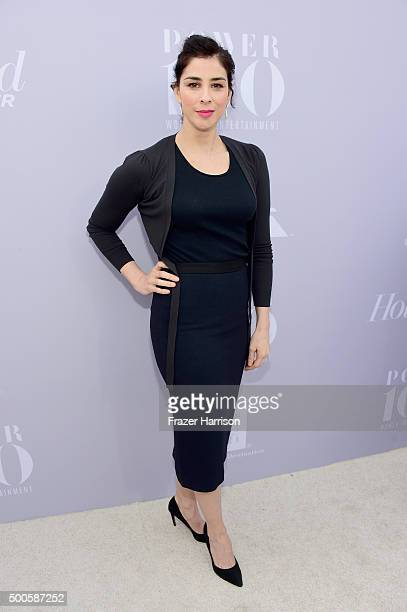 Comedian Sarah Silverman attends the 24th annual Women in Entertainment Breakfast hosted by The Hollywood Reporter at Milk Studios on December 9 2015...