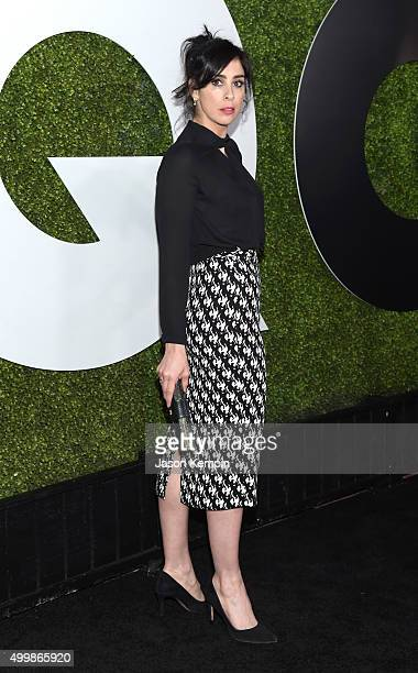 Comedian Sarah Silverman attends the GQ 20th Anniversary Men Of The Year Party at Chateau Marmont on December 3 2015 in Los Angeles California