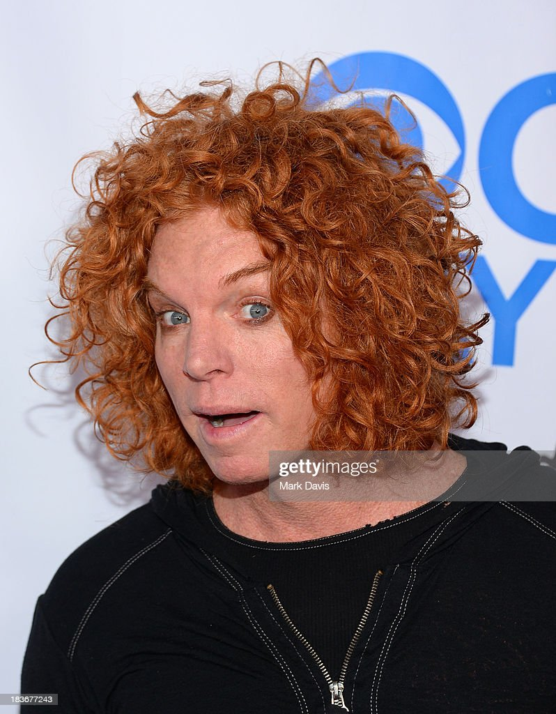 Comedian Scott Thompson aka Carrot Top attends 'CBS Daytime After Dark' at The Comedy Store on October 8, 2013 in West Hollywood, California.