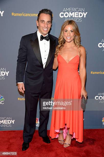 Comedian Sebastian Maniscalco and Lana Gomez attend 2014 American Comedy Awards at Hammerstein Ballroom on April 26 2014 in New York City