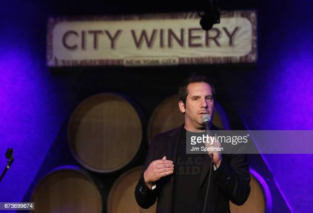 Comedian Seth Herzog attends the Aasif Mandvi Friends AllStar Deportation Jamboree at City Winery on April 26 2017 in New York City