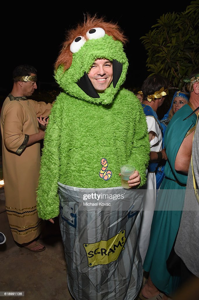 Comedian Seth MacFarlane attend the Casamigos Halloween Party at a private residence on October 28, 2016 in Beverly Hills, California.