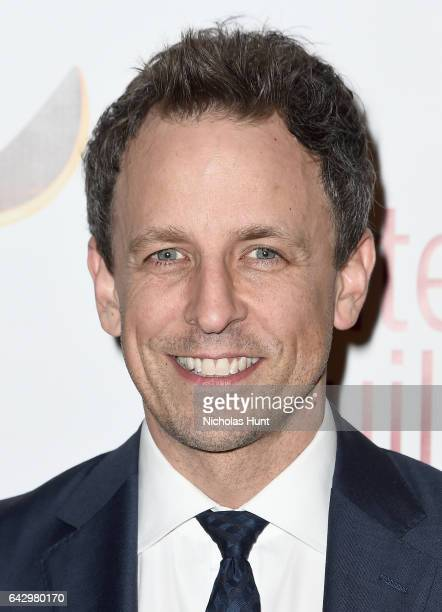 Comedian Seth Meyers attends 69th Writers Guild Awards New York Ceremony at Edison Ballroom on February 19 2017 in New York City
