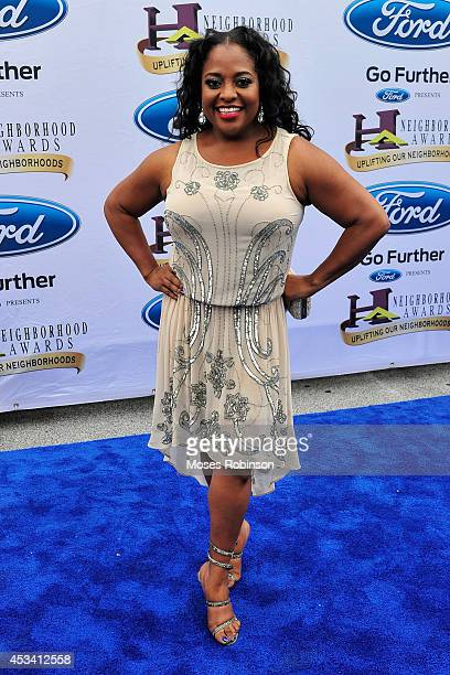 Comedian Sherri Shepherd attends the 2014 Ford Neighborhood Awards Hosted By Steve Harvey at the Phillips Arena on August 9 2014 in Atlanta Georgia