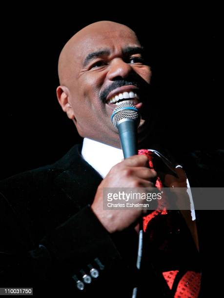 Comedian Steve Harvey performs at Radio City Music Hall on March 12 2011 in New York City