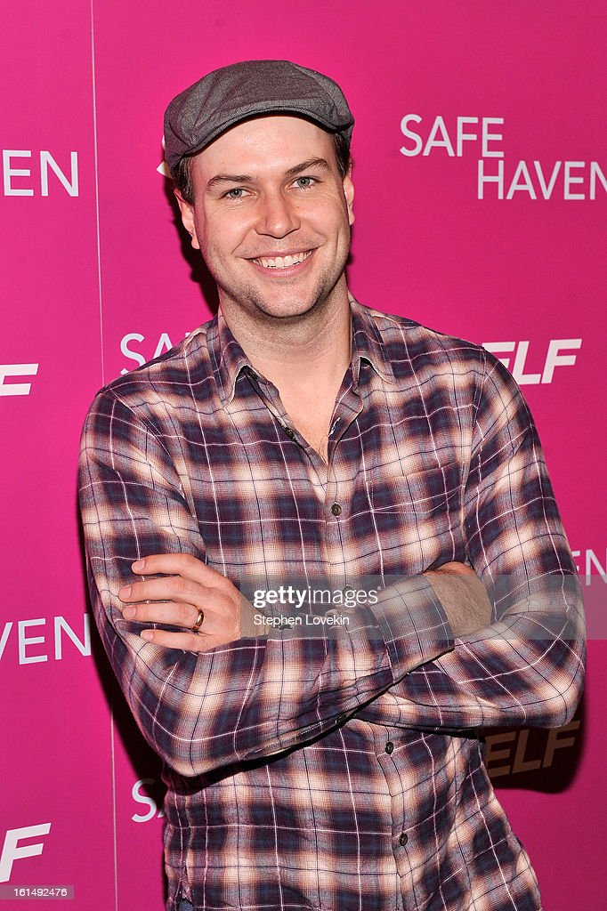Comedian <a gi-track='captionPersonalityLinkClicked' href=/galleries/search?phrase=Taran+Killam&family=editorial&specificpeople=3798325 ng-click='$event.stopPropagation()'>Taran Killam</a> attends SELF Magazine and Relativity Media's special New York screening of 'Safe Haven' at Landmark Theatres Sunshine Cinema on February 11, 2013 in New York City.