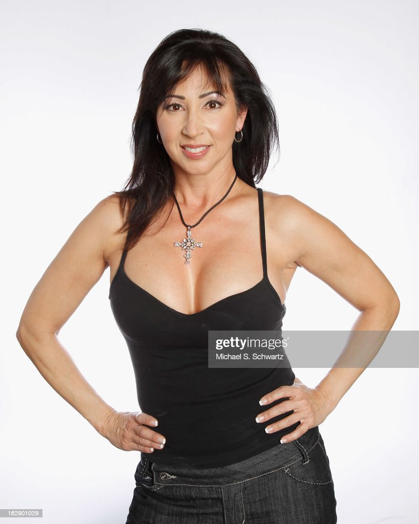Comedian Terri Gilboy poses after her performance at The Ice House Comedy Club on February 28, 2013 in Pasadena, California.
